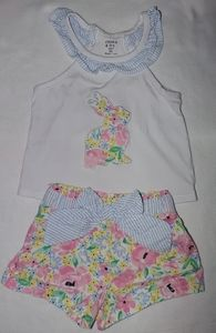Crown & Ivy Bunny Outfit 12 months